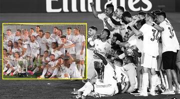 Real Madridde şampiyonluğa bir tek o sevinmedi O görüntü...