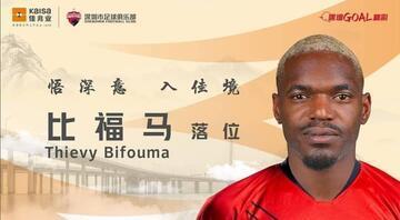 Malatyaspordan Çine Thievy Bifouma transferi resmen açıklandı