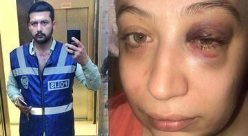 Önce iş yerinde sonra evinde dövdü Kendini polis gibi tanıtıyor, polis gelince kaçıyor...