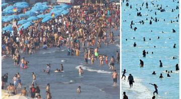 Kulaç atacak yer kalmadı Bakan Koca: Birinci dalga sahillere indi