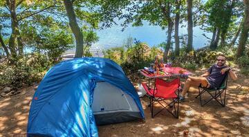 İstanbulun en az bilinen kamp alanı: Darlık Barajı