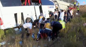 İstanbulda feci otobüs kazası: Çok sayıda ölü ve yaralı var