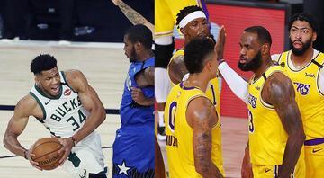 Lakers ve Bucks serilerine denge getirdi