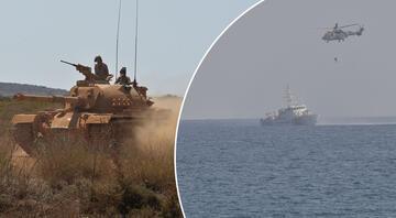 MSB Akdeniz Fırtınası tatbikatından yeni görüntü paylaştı