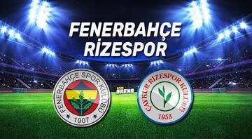 Fenerbahçe Çaykur Rizespor maçı ne zaman, saat kaçta, hangi kanaldan canlı yayınlanacak