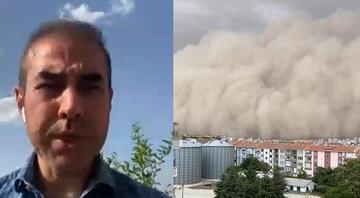 Bünyamin Sürmeli CNN Türkte anlattı: Ankarada kum fırtınası neden oldu