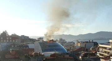 Celta Vigo kulüp binasında yangın çıktı