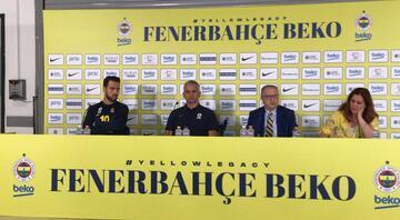 Fenerbahçe Bekoda medya günü Igor Kokoskovun hedefi...