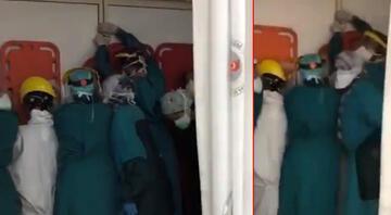 Ankarada sağlık çalışanlarına saldırı girişimi  Bakan Koca'dan flaş açıklama…
