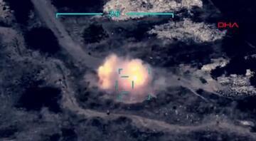 Azerbaycan ordusu Ermenistan mevzilerini böyle vurdu
