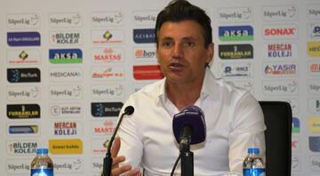 Antalyaspor Teknik Direktörü Tamer Tuna: Mağlubiyetten dolayı üzgünüz