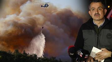 Hatay orman yangınında korkunç iddia Görüntüler ortaya çıktı... Valilikten sabotaj açıklaması