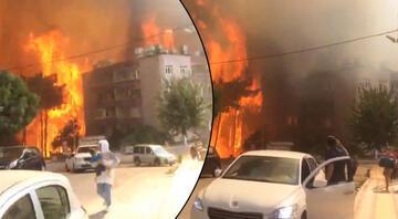 Hataydaki yangın sonrası yürek burkan görüntüler