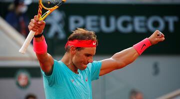 Fransa Açıkta şampiyon Rafael Nadal Djokovici yıktı, Federeri yakaladı