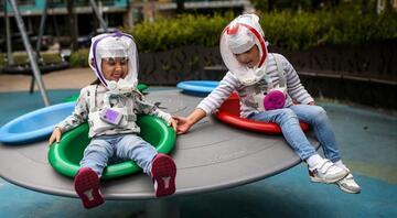 Son dakika haberi: Koronavirüse özel astronot kaskı üretildi