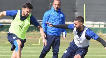 BB Erzurumsporda Hatayspor hazırlıkları Taktik ağırlıklı pas çalışması...