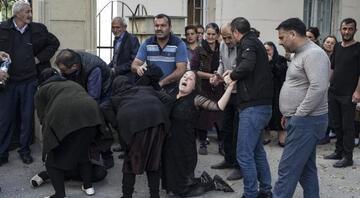 Ermenistan Azerbaycanın Terter kentinde yine sivilleri hedef aldı Ölü ve yaralılar var..