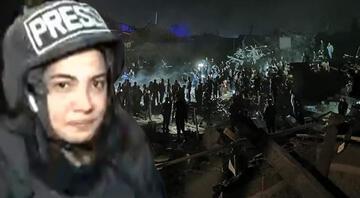 CNN Türk muhabirinin Gencede zor anları Cansız bedenine dokundum