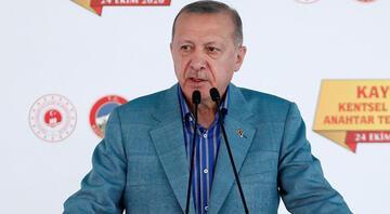 Cumhurbaşkanı Erdoğan Kentsel Dönüşüm Projesi Anahtar Teslim Töreninde konuştu