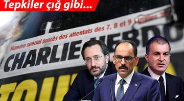 Fransız Charlie Hebdo dergisinden Cumhurbaşkanı Erdoğana alçak saldırı