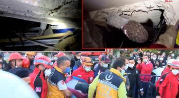 İzmirdeki depremde 26 saat sonra yaralı olarak kurtarıldı