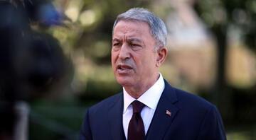 Milli Savunma Bakanı Akar ve TSK komuta kademesi İzmirde