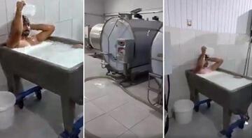 Konyada süt fabrikasındaki skandal görüntülerin ardından flaş gelişme