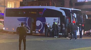 İstanbulda otobüs terminalinde heyecanlı dakikalar Üzerimde bomba var