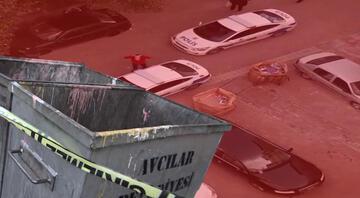 Avcılarda çöp konteynerinde bebek cesedi bulundu