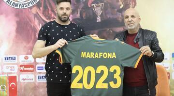 Alanyaspor, Marafona ile sözleşme uzattı