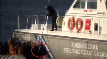 Son dakika... Yunanistan sürekli yalanlıyordu Skandal görüntüler ortaya çıktı...