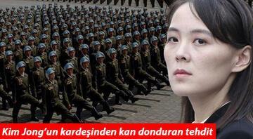 Son dakika... Kuzey Korenin gizli liderinden ürküten sözler Böyle tehdit etti...