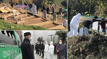 Rizede aynı aileden 6 kişi koronavirüs nedeniyle hayatını kaybetti İlk cenaze açıldı iddiası