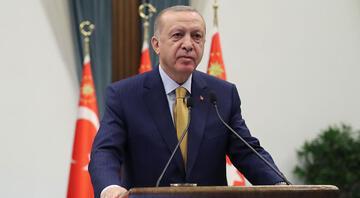 Cumhurbaşkanı Erdoğan, Arnavutluktaki temel atma törenine katıldı