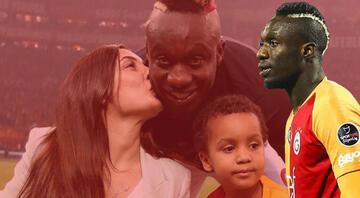 Galatasarayda eşinin karantinada olması sebebiyle kadroya alınmayan Diagne alışverişe çıktı
