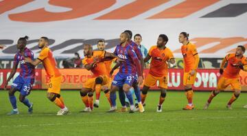 Trabzonspor - Galatasaray maçından öne çıkan fotoğraflar