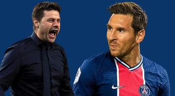 Fransızlar duyurdu PSGde Pochettino ve Messi planı