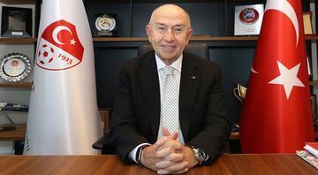 TFF Başkanı Nihat Özdemir: Türk futbolunun kalıcı şekilde nefes almasını sağlayacak...