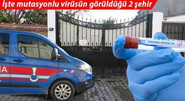 Mutasyonlu virüs Türkiyede hangi şehirlerde görüldü İşte Türkiyede mutasyonlu koronavirüsün görüldüğü iller