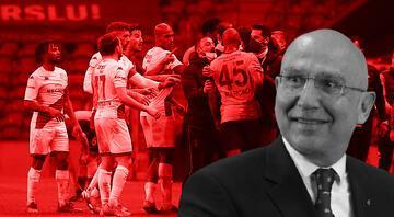 Galatasaray - Antalyaspor maçında protokol tribününü karıştıran küfür