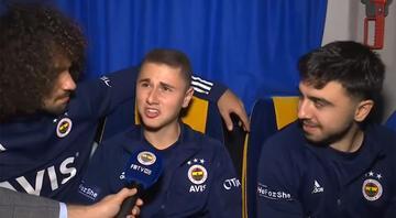 Fenerbahçede Ozan Tufan ve Eyüp Akcanın eğlenceli anları