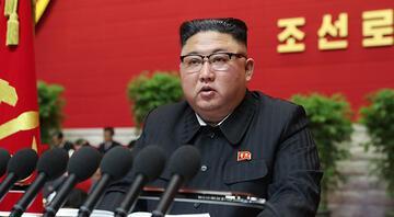 Kuzey Koreden başarısızlık itirafı Kim Jong-unun sözlerini bütün salon pür dikkat dinledi