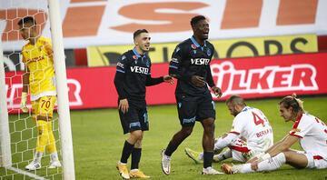 Trabzonspor 1 - 0 Göztepe / Maç özeti