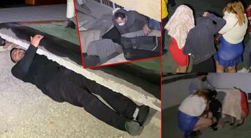 Böylesini görmediniz Konyadaki polis baskınında nereye saklanacaklarını şaşırdılar