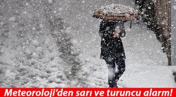 İstanbula kar ne zaman yağacak Meteorolojiden son dakika hava durumu uyarısı Çok sayıda ile sarı ve turuncu uyarı...