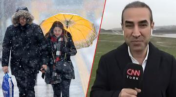 İstanbula kar ne zaman yağacak Tek tek ilçeleri sıraladı...