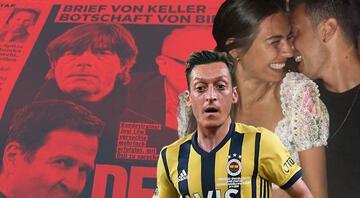 Almanların konuştuğu mektup Mesut Özil...