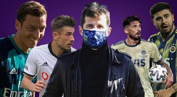 Emre Belözoğlundan flaş transfer açıklaması Mesut Özil, Ozan Tufan, Dorukhan Toköz, Sosa...
