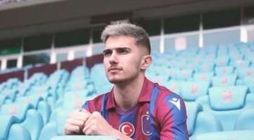 Trabzonspordan Berat Özdemir paylaşımı