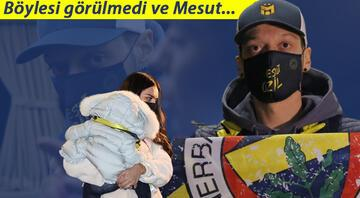 Fenerbahçenin yeni transferi Mesut Özil, İstanbula geldi 312 bin kişi...
